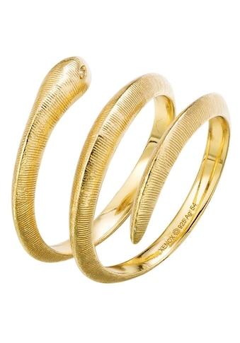 XENOX Fingerring »Paradise, Schlange, XS4241G/52, 54, 56, 58«, mit Zirkonia kaufen