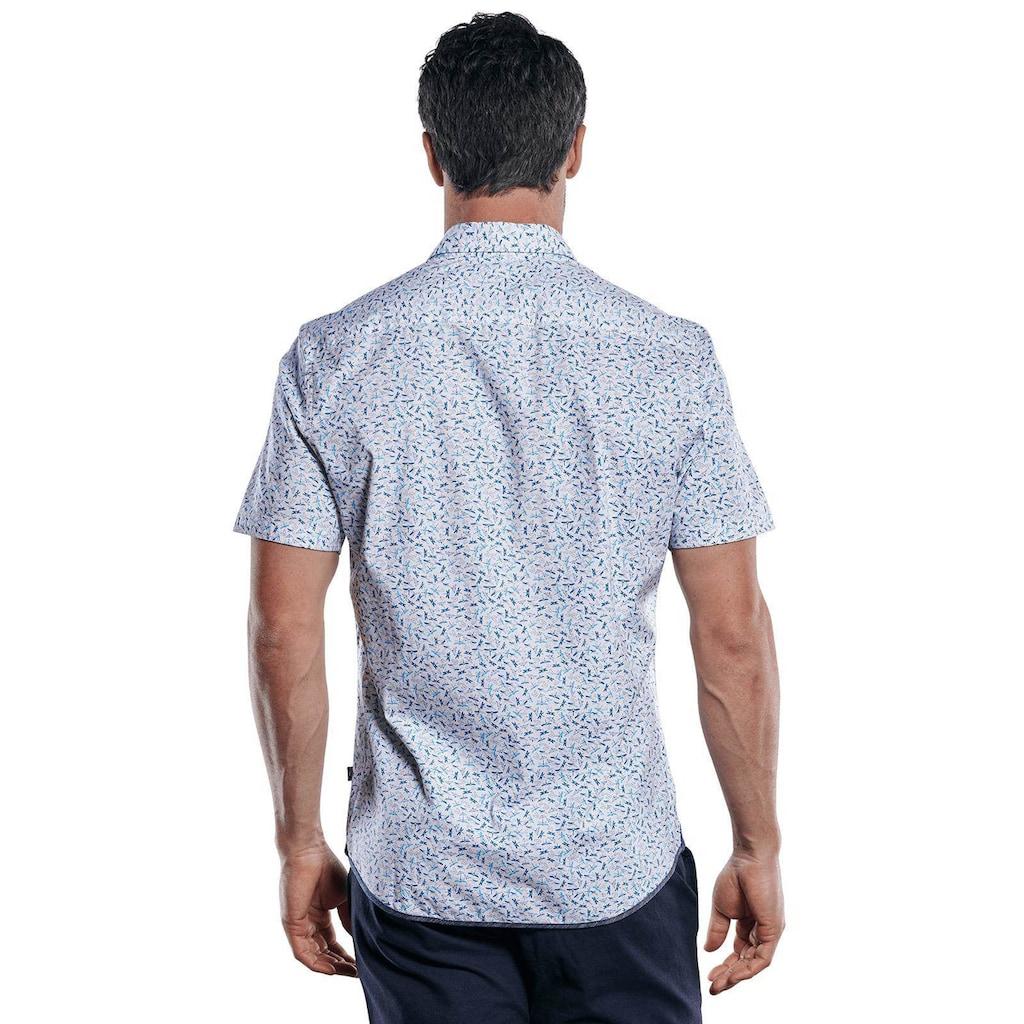Engbers Kurzarmhemd, mit Libellen-Print