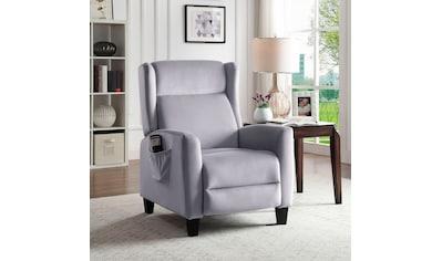 ATLANTIC home collection TV-Sessel »Timo«, klassischer Ohrensessel mit moderner... kaufen