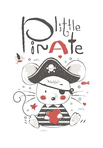 queence Leinwandbild »Little Pirate« kaufen