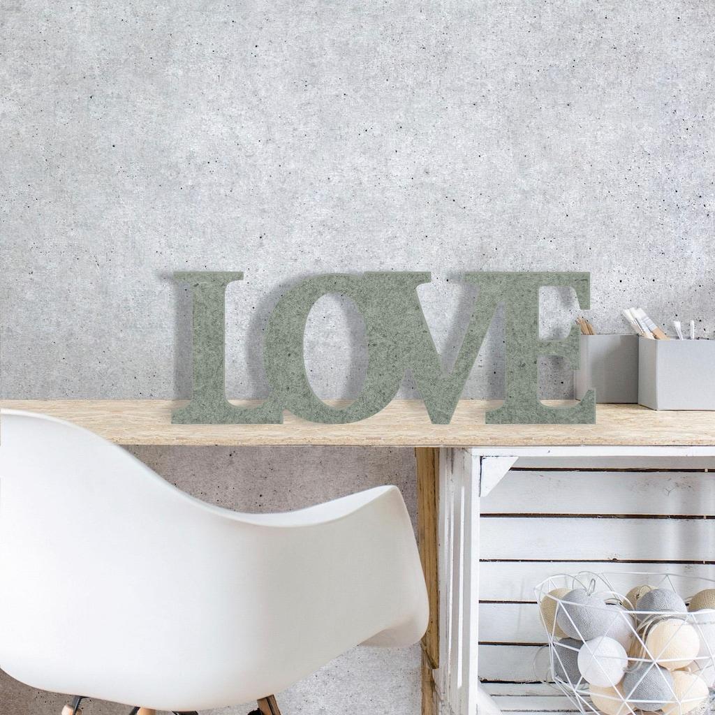 Wall-Art Dekoobjekt »Love«, 54/20 cm