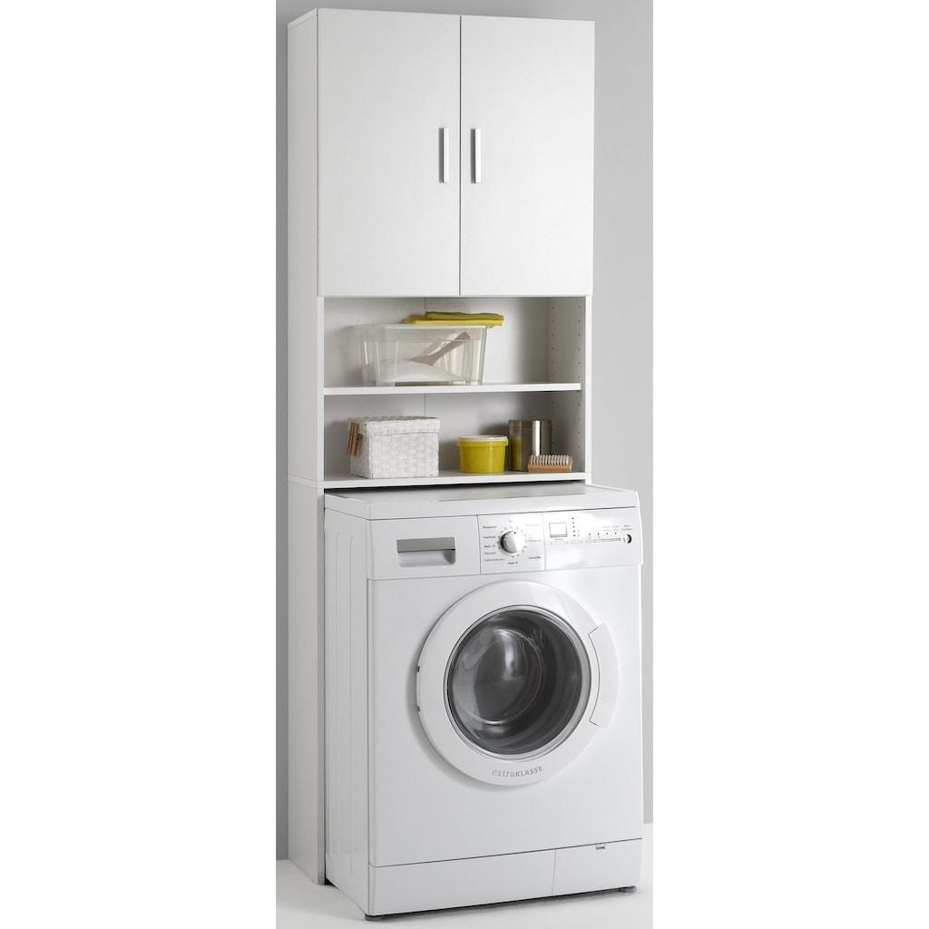 FMD Waschmaschinenumbauschrank »Olbia«, mit 2 offenen Fächern