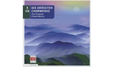 Musik - CD Die Grössten Chorwerke / Various, (5 CD) kaufen