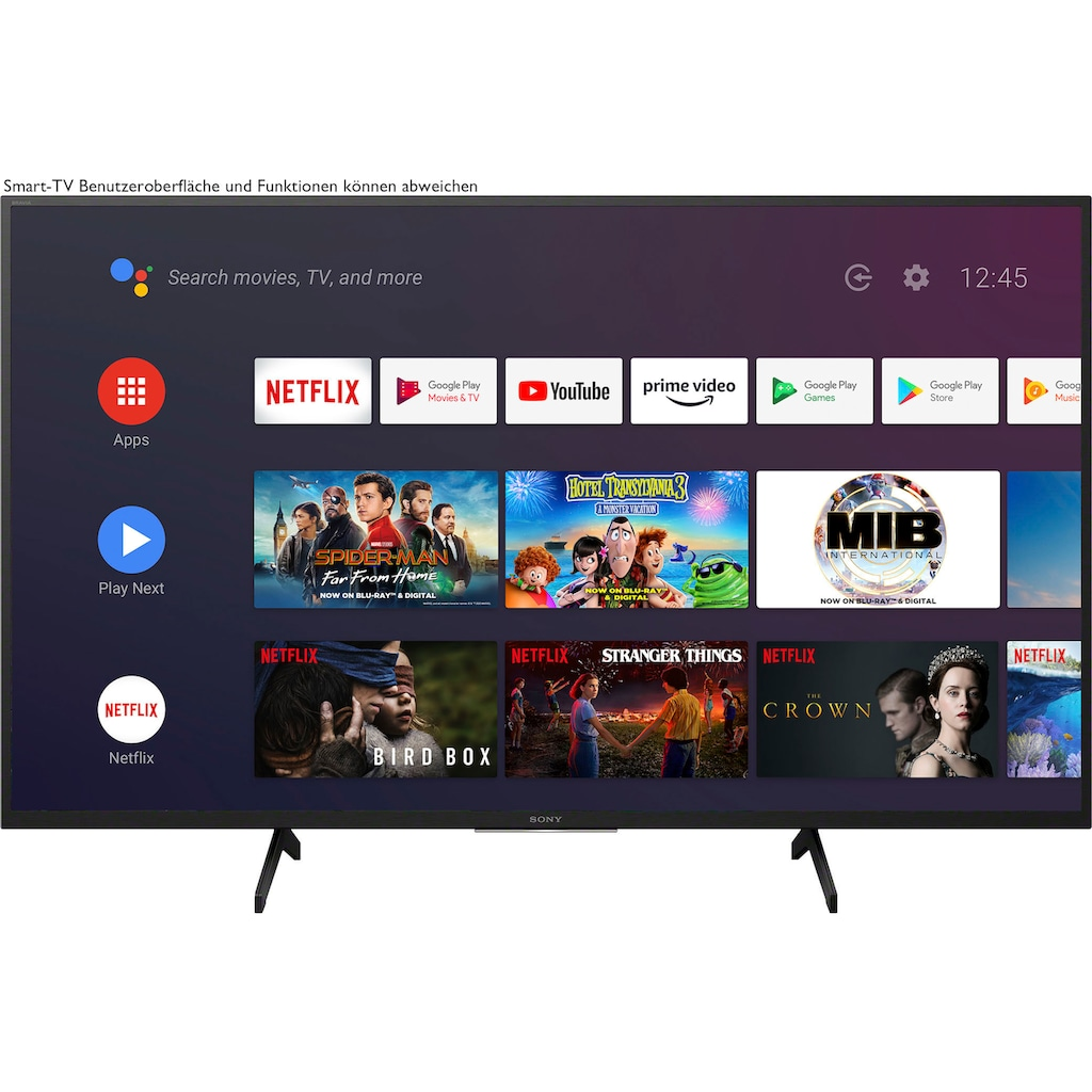 """Sony LED-Fernseher »KD-43XH8096«, 108 cm/43 """", 4K Ultra HD, Android TV-Smart-TV"""