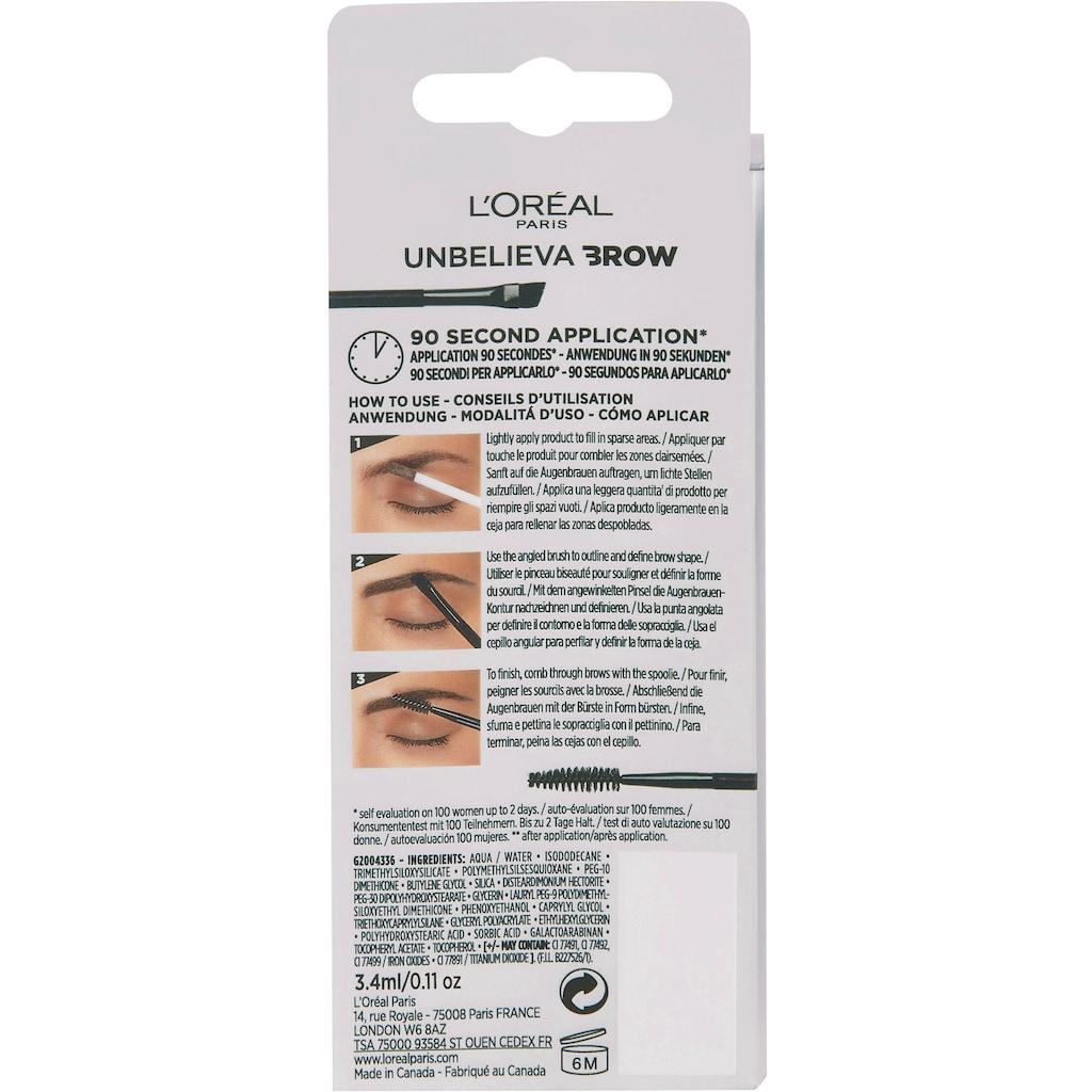L'ORÉAL PARIS Augenbrauen-Gel »Unbelieva Brow«