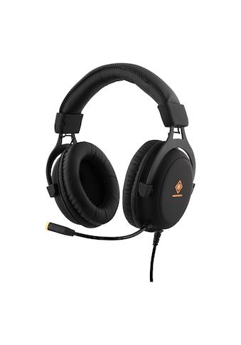 DELTACO Kopfhörer mit LED Beleuchtung und Mikrofon kaufen