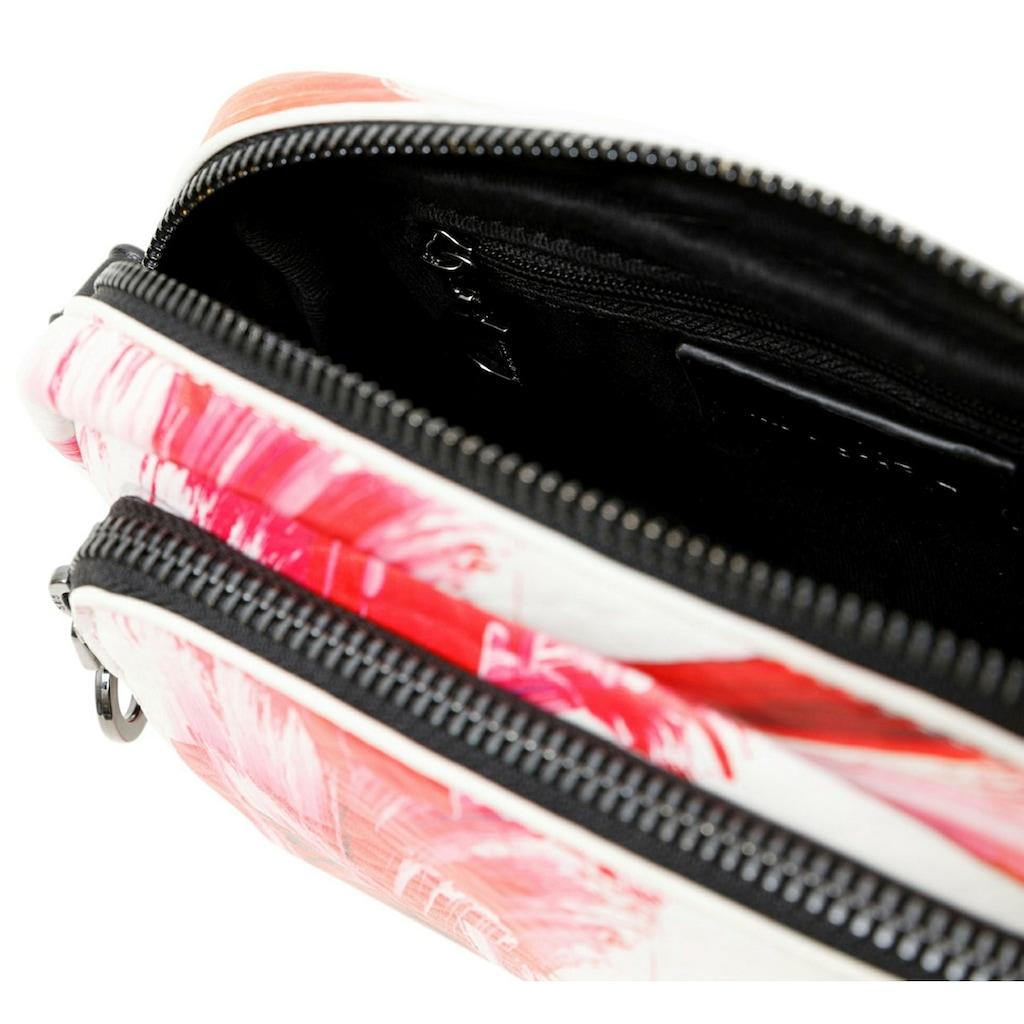 Desigual Umhängetasche, mit kleiner, abnehmbarer Reißverschluss-Tasche