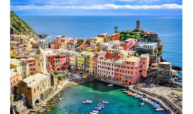 Papermoon Fototapete »Colorful Village Vernazza, Cinque Terre« kaufen
