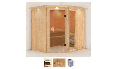 Karibu Sauna »Frigga 2«, 8-kW-Ofen mit integrierter Steuerung kaufen