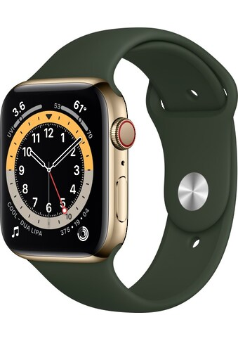 Apple Smartwatch »Watch Series 6 GPS + Cellular, 44 mm«, (Watch OS inkl. Ladestation... kaufen