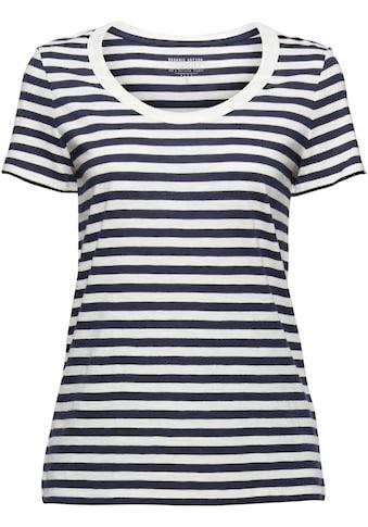 Esprit T-Shirt, im tollen Ringel-Look kaufen