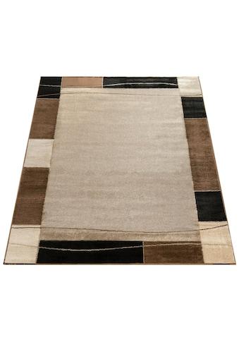 Paco Home Teppich »Sinai 054«, rechteckig, 9 mm Höhe, Kurzflor mit Bordüre, Wohnzimmer kaufen