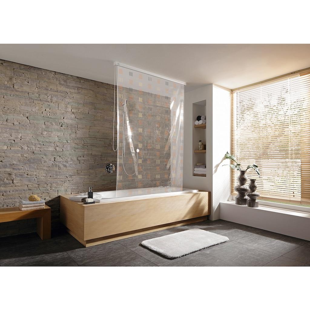 Kleine Wolke Duschrollo, Breite 134 cm, ausziehbar, 134 x 240 cm