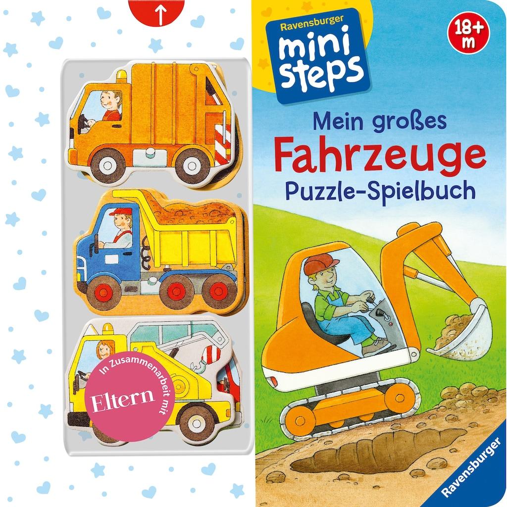 Buch »Mein großes Fahrzeuge Puzzle-Spielbuch / Sabine Cuno, Klaus Bliesener«