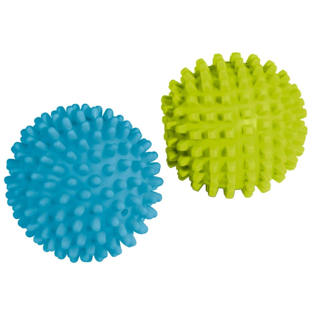 Xavax Trocknerbälle für Wäschetrockner, Trocknerkugel 2er Set