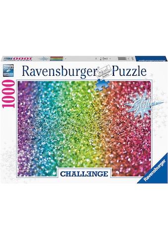 Ravensburger Puzzle »Glitzer«, FSC® - schützt Wald - weltweit; Made in Germany kaufen