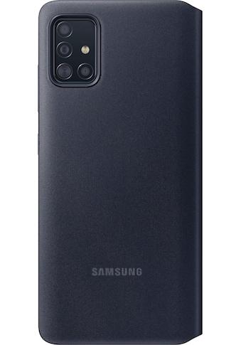 Samsung Smartphone - Hülle »EF - EA515 S View Wallet Cover für Galaxy A51« kaufen