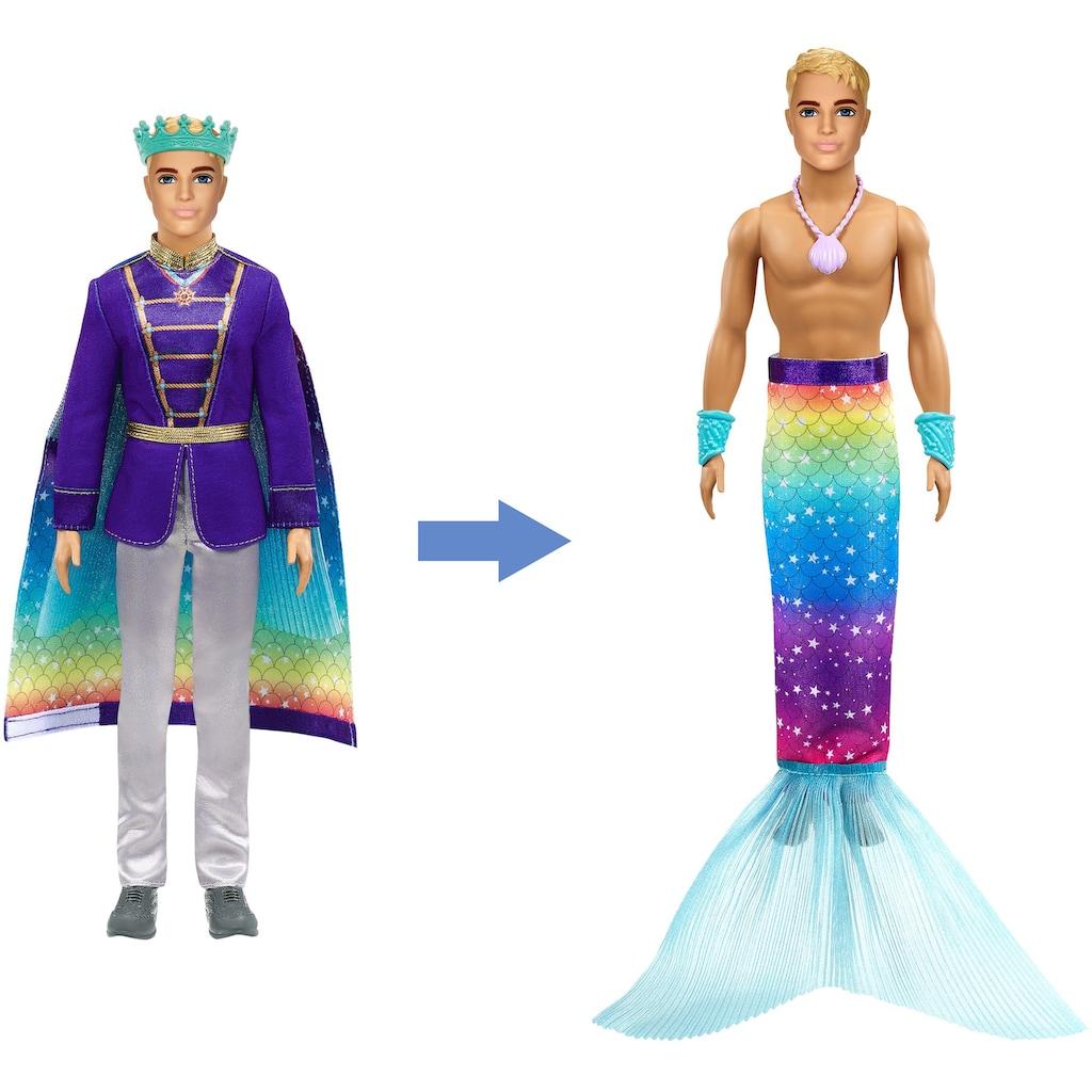 Barbie Anziehpuppe »Dreamtopia, 2-in-1 Prinz & Meermann«