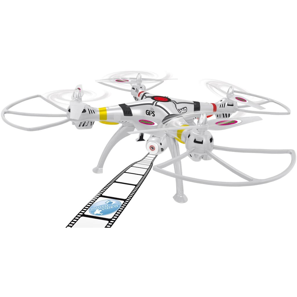Jamara RC-Quadrocopter »Payload GPS VR Drone Altitude HD«, mit Kamera
