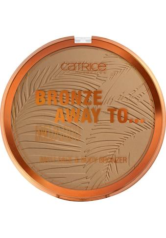 Catrice Bronzer-Puder »Bronze Away To... Matt Face & Body Bronzer C01« kaufen