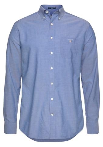 Gant Langarmhemd, mit Brusttasche kaufen