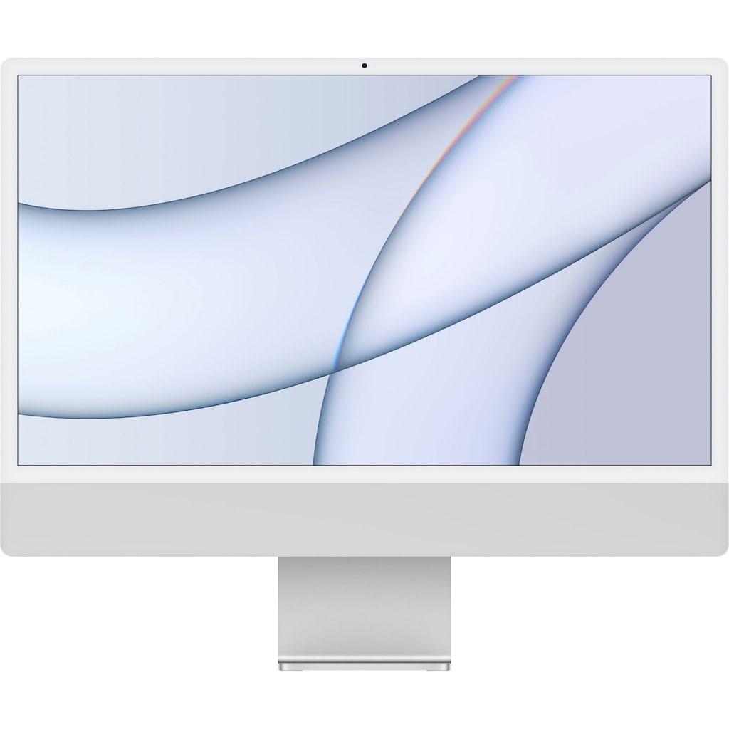 "Apple All-in-One PC »iMac (2021), 24"", mit 4,5K Retina, 8 GB RAM, 256 GB Speicherplatz«"
