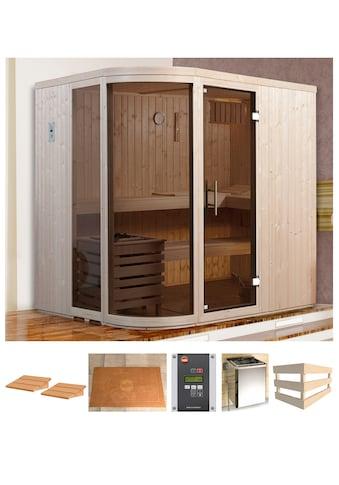 WEKA Sauna »Sara 1«, 194x194x199 cm, 7,5 kW Bio - Kombiofen mit ext. Strg. kaufen