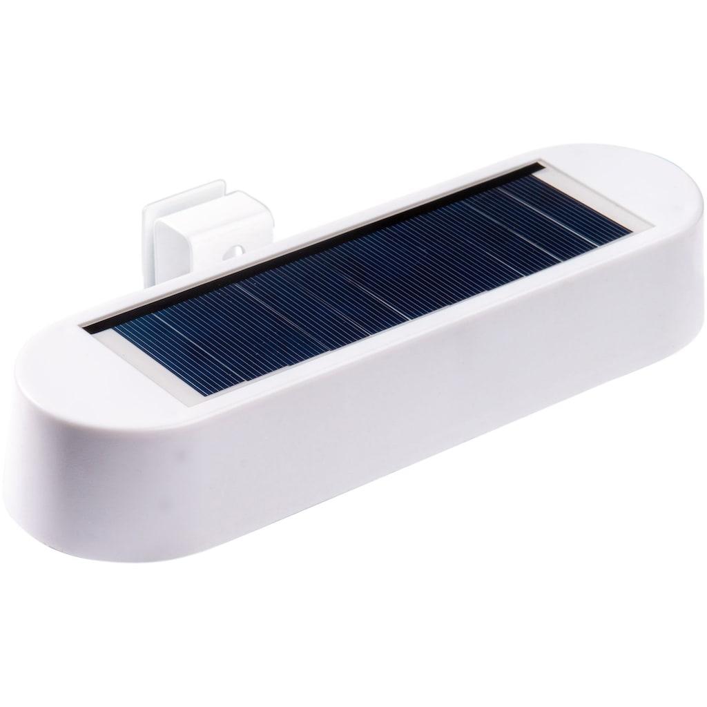 näve LED Außen-Wandleuchte »Dachrinnenleuchte«, 1 St., Neutralweiß, Solar, 2-er Set
