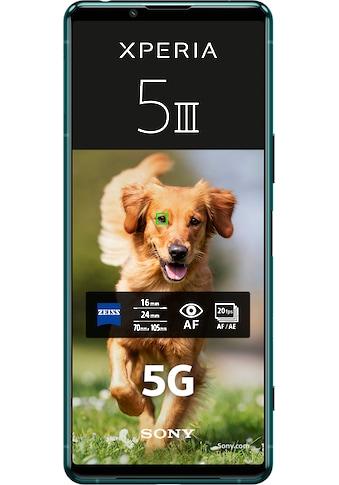 """Sony Smartphone »Xperia 5 III 5G, 128GB«, (15,5 cm/6,1 """", 128 GB Speicherplatz, 12 MP... kaufen"""