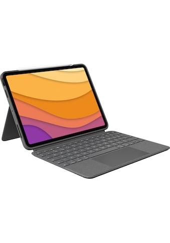 Logitech iPad-Tastatur »Combo Touch für iPad Air«, (ausklappbare Füße-Multimedia-Tasten) kaufen