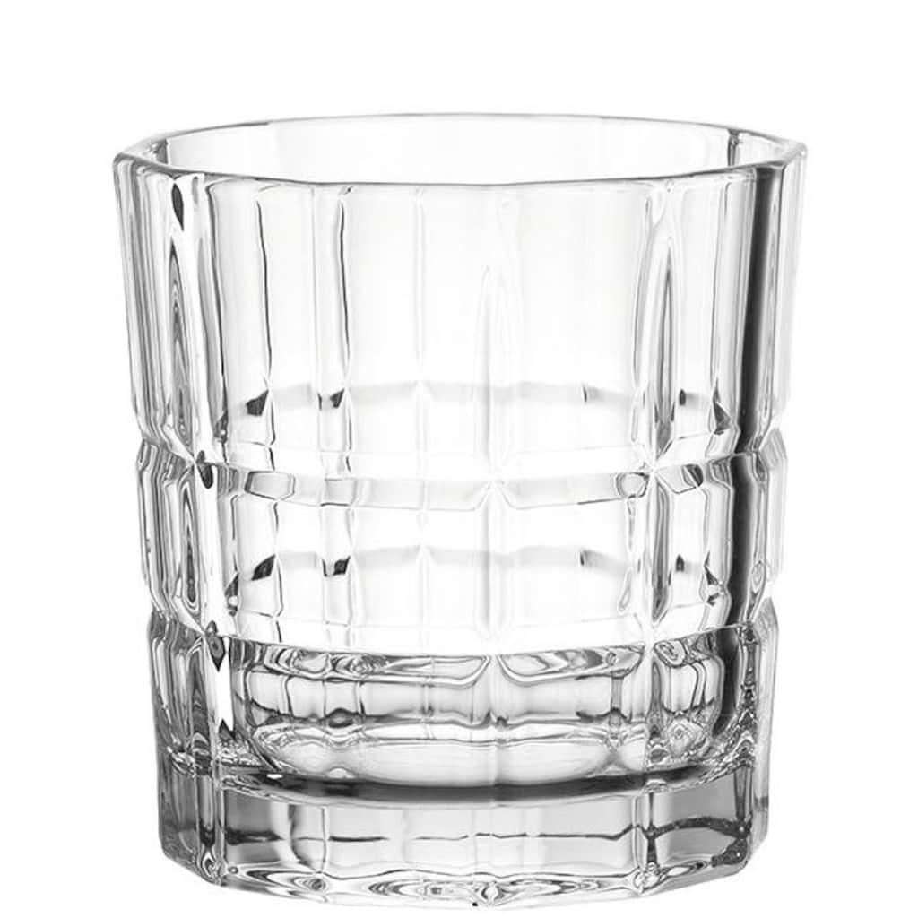 LEONARDO Glas »SPIRITII«, (Set, 4 tlg.), extravagantes Design, 4-teilig