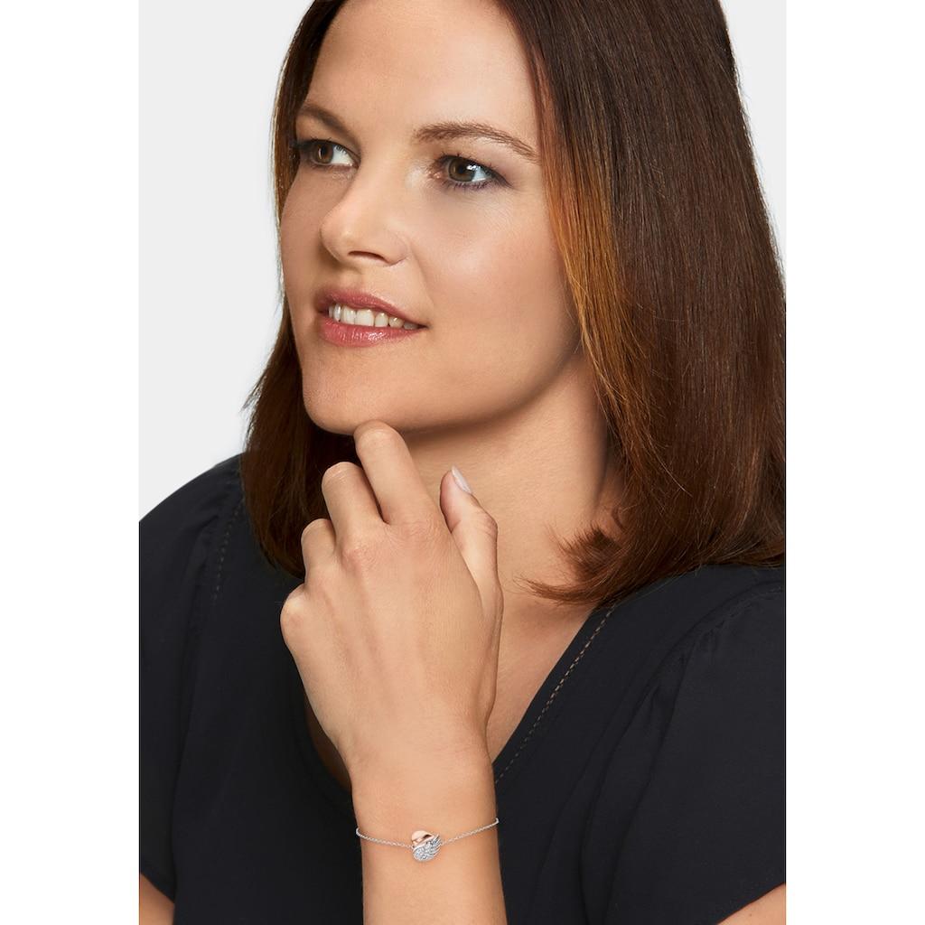 Engelsrufer Armband »Herzflügel, ERB-LILHEARTWING-BIR«, mit Zirkonia (synth.)