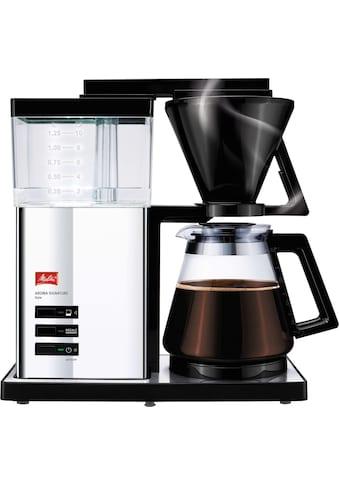 """Melitta Filterkaffeemaschine Aroma Signature Deluxe """"Style"""" 100704, Papierfilter 1x4 kaufen"""