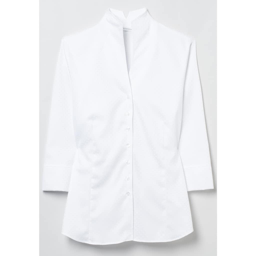 Eterna Hemdbluse »MODERN CLASSIC«, Dreiviertelarm Bluse