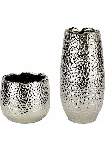 Home affaire Dekovase »Keramik - Vasen« (Set, 2 Stück) kaufen