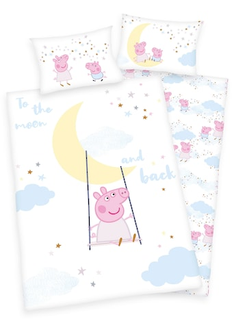 Babybettwäsche »Peppa Pig«, kaufen