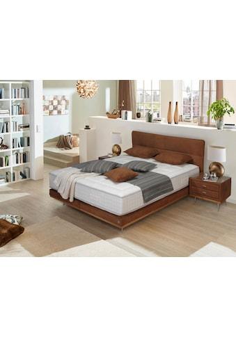 ADA premium Boxspringbett »Teana«, mit Metallfuß und Holzleiste, in 3 Größe kaufen