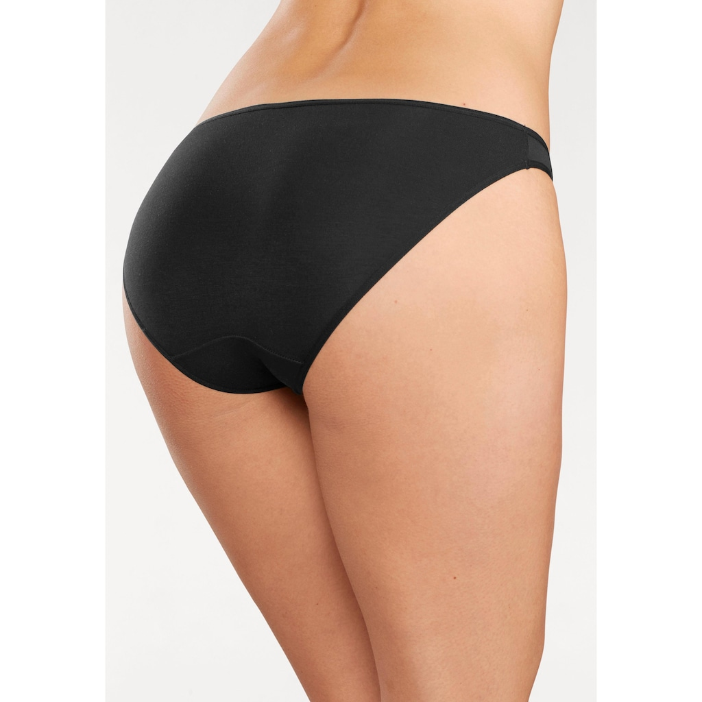 LASCANA Bikinislip, (3 St.), aus hochwertiger Modal-Qualität