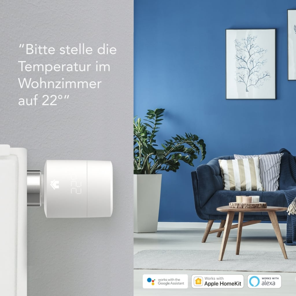 Tado Smartes Heizkörperthermostat »Smart Thermostat - Starter Kit V3+ inkl. 1 Bridge«, Starterpaket