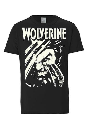 LOGOSHIRT T-Shirt mit großem Marvel-Frontprint kaufen