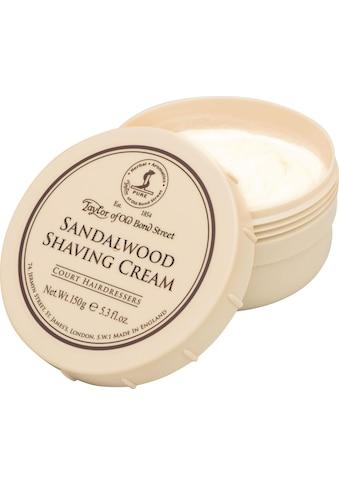 "Taylor of Old Bond Street Rasiercreme ""Shaving Cream Sandalwood"" kaufen"