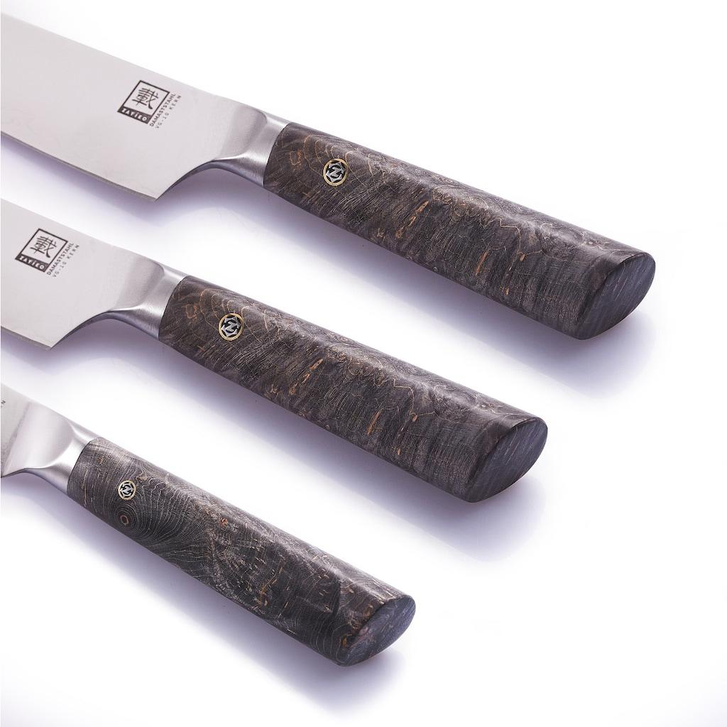 """ZAYIKO Messer-Set """"Profi Serie"""" (Set, 3-tlg., Chefmesser, Fleischmesser, Allzweckmesser)"""
