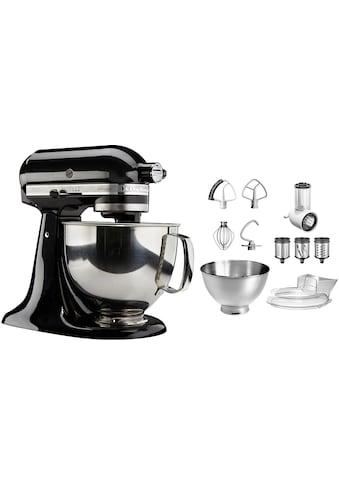 KitchenAid Küchenmaschine »Artisan 5KSM175PSEOB«, 300 W, 4,8 l Schüssel, mit Gratis... kaufen