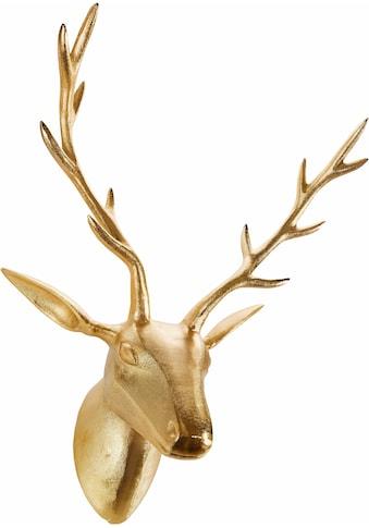ARTRA Dekogeweih »Hirschkopf«, Wanddeko, aus Metall kaufen