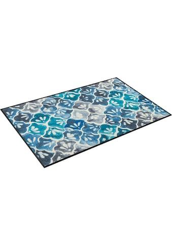 wash+dry by Kleen-Tex Teppich »Ground«, rechteckig, 7 mm Höhe, In- und Outdoor... kaufen