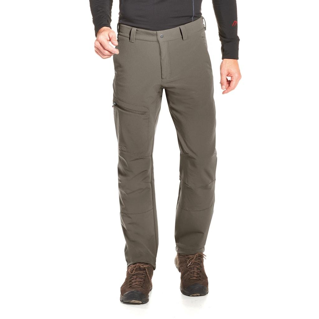 Maier Sports Funktionshose »Herrmann«, Warme Outdoorhose, robust, sehr elastisch