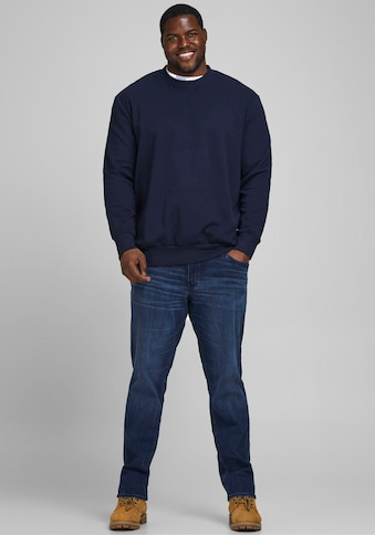 Jack & Jones Sweatshirt »BASIC SWEAT CREW NECK«, Bis Größe 6XL kaufen