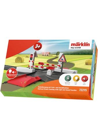 Märklin Modelleisenbahn-Übergang »Märklin my world - Bahnübergang - 72215«, Mit Licht-... kaufen