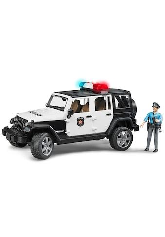 """Bruder® Spielzeug - Polizei """"Jeep Wrangler Polizeifahrzeug und Polizist"""" (Set, 2 - tlg.) kaufen"""