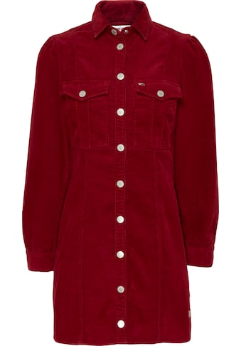 TOMMY JEANS Cordkleid »FITTED SHIRT DRESS« kaufen
